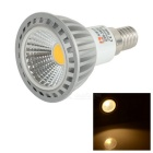 LeXing Lighting E14 4W Dimmable COB LED Spotlight Warm White 3500K 250lm (AC 220~240V)