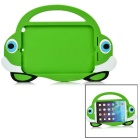 2-in-1 Protective Silicone Back Case + Screen Protector Set for IPAD MINI 1 / 2 / 3 - Green