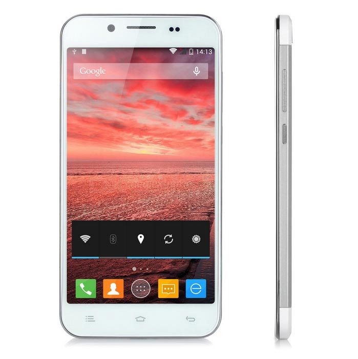 ZOPO ZP1000S Android 4.4 Quad-Core Phone w/ 1GB RAM, 32GB ROM - Silver