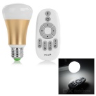 E27 6W Dimmable LED Bulb Warm White + White 2700~6500K 260lm SMD 5730 w/ Remote Control (AC 86~265V)
