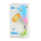 E27 6W Dimmable LED Bulb Warm White + White 260lm w/ Remote - Golden