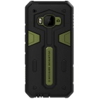 NILLKIN Stronger II Series TPU + PC Back Cover Case for HTC One M9 - Green + Black