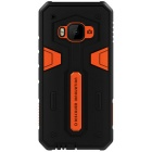 NILLKIN Stronger II Series TPU + PC Back Cover Case for HTC One M9 - Orange + Black