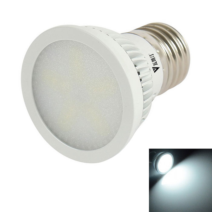 WaLangTing E27 6W Dimmable LED Spotlight Bulb Cool White Light 300lm 7000K 15SMD - White (220~240V)
