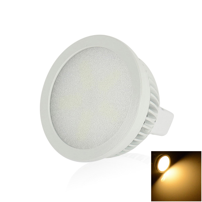 walangting MR16 6W LED lys spotlight pære varm hvit 270lm 15-SMD