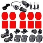 27-In-1 Accessories Kit for GoPro Hero 4 / Hero HD 3+ / 3 / 2 / 1 - Black