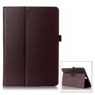"Protective Flip-Open PU Case w/ Stand for Samsung Galaxy Tab A 8.0"" / T350 - Brown"