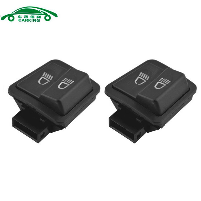 CARKING Motorcycle Three Line Switch Fit for WH-125 - Black (2PCS)
