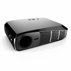 Ourspop OP-38 1500lm WXGA 1280 x 800 Android 4.4 DLP Video Projector With 3D Glasses - Black
