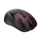 FN-861 Bluetooth 3.0 3D Texture 1600dpi Ergonomic Mouse - Purple