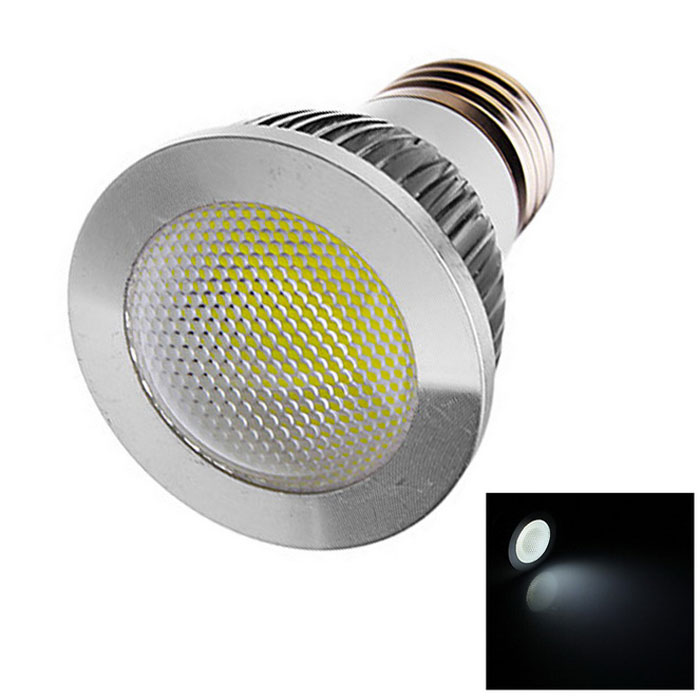 E27 4W 210lm Lamp Bulb White Light 6500K COB LED - White (AC 110-220V)