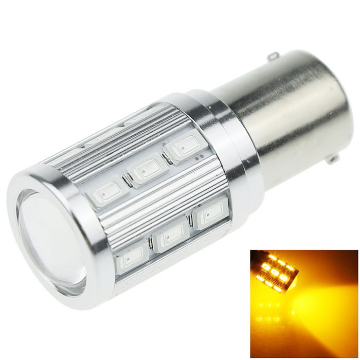 1156 / BA15S 7W 700lm Yellow LED Car Steering Blub Turn Signal Light