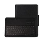 Detachable PU + ABS Bluetooth V3.0 64-Key Keyboard Case for Samsung Galaxy Tab A 9.7 - Black