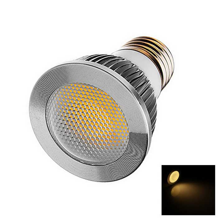 E27 4W 210lm Lamp Bulb Warm White 3500K COB LED Light - White (AC110-220V)