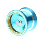 Aluminum Alloy YOYO Ball Game Toy - Blue + Golden