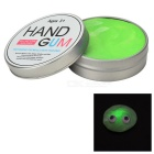 DIY Magic Glow-in-the-Dark Stress Relieving Silicone Grease Plasticine Toy w/ Light - Green