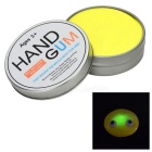 DIY Magic Glow-in-the-Dark Stress Relieving Silicone Grease Plasticine Toy w/ Light - Yellow