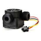 G1/2 90 Degree L-Shaped Hall Fluent Switch Sensor - Black