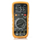 "HYELEC MY60 2.5"" LCD Manual Range Digital Multimeter - Black + Orange (1999 Max.)"