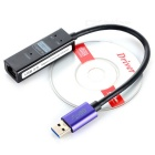 1000Mbps USB 3.0 to RJ45 Network Card Adapter - Black