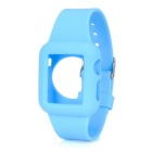 FineSource Silicone Wrist Watch Band for APPLE WATCH 38mm - Blue
