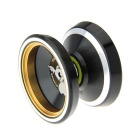Aluminum Alloy YOYO Ball Game Toy - Black + Silvery White