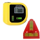 CPTCAM CP-3010 Mini Ultrasonic Distance Measurer Range Finder - Yellow + Red