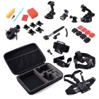 32-in-1 Sports Camera Accessories Kit for GoPro Hero 4/3/3+ / SJ4000 / SJ5000 / SJCam / Xiaoyi