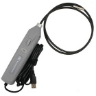 UC100SL USB Handheld Inspection Camera 5.5mm Borescope 6-LED Snake Endoscope - Grey (1m)