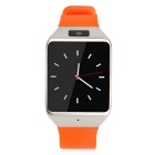 "Atongm W007 1.54"" Touch Screen Smart Bluetooth Watch w/ Camera - Silver + Orange"