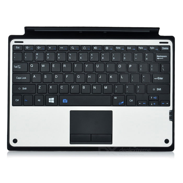 78-Key Bluetooth Keyboard for Microsoft Surface Pro3 - White + Black