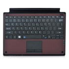 "78-Key Wireless Bluetooth Keyboard for Microsoft Surface Pro3 10.8"" - Brown + Black"