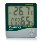 Pro's Kit NT-311 3.9'' LCD Digital Temperature Humidity Meter (1*AAA)
