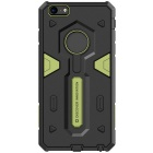 NILLKIN Stronger II Series TPU + PC Back Cover Case Armor for IPHONE 6 PLUS - Green + Black