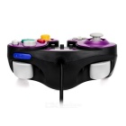 Wired Game Controller for Wii / Wii U / GameCube - Black + Purple