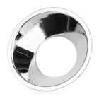 COB 40mm Round Hole PVC Reflector for LED - Silver