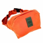 Outdoor Multi-functional Oblique Satchel - Orange