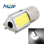 MZ 1156 15W 3-COB LED 750lm 6500K White Car Brake Light / Steering Light (12~24V)