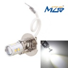 MZ H3 5W Canbus Error-Free Car LED Front Fog Lamp White Light 500lm