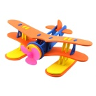 Educational Toy Kid's DIY Seaplane (2 x AA)