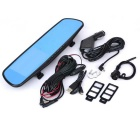 "Marsing A20 4.3"" 1080P 170° Angle Car DVR & Rearview Mirror - Black"