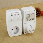 Wireless Remote Control Light Switch Socket w/ 2*Control (EU Plug)