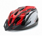 ROBESBON 18-Hole EPS Outdoor Cycling Helmet - Black + Red + Multicolor