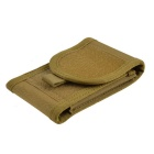 "4.7"" Outdoor Nylon Bag Pouch for IPHONE 6/5S, Cell Phones - Tan"