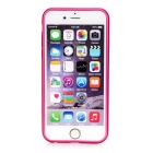 Kinston Rainbow Series Aluminum Frame Case for IPHONE 6 - Deep Pink
