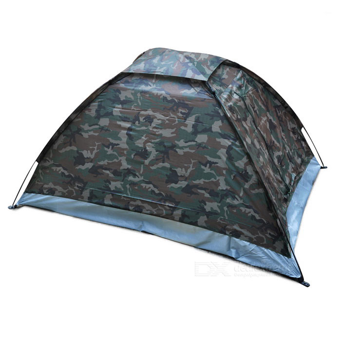 Waterproof Camouflage Color Camping Tent for Two Persons - CP Camouflage