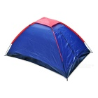 Navy Blue Single Layer Outdoor Camping Tent for Two Persons - Deep Blue