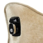 Bluetooth Wired Headset Car Headset Pillow Cushion - Khaki