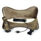 Bluetooth Wired Headset Car Headset Pillow Cushion - Brown