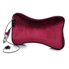 Bluetooth Wired Headset Car Headset Pillow Cushion - Wine Red